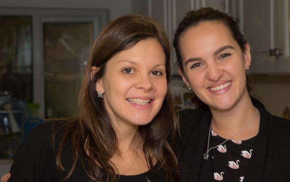 Paula and Marta (Natalia's daughter)