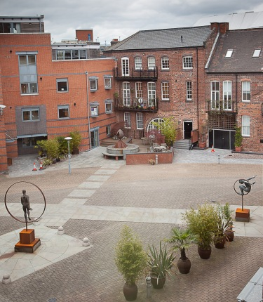 Phase 1 Courtyard overview 29 April 2010