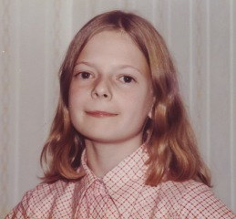 Katherine on birthday 1 Nov 1978