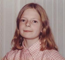 Katherine on birthday 1 Nov 1978