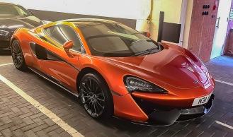 McLaren in car park 1
