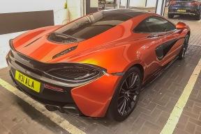 McLaren in car park 2